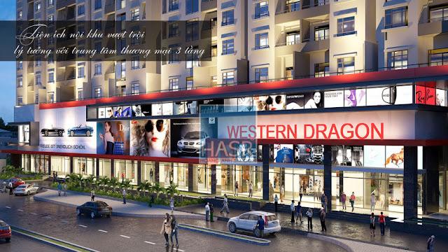 3 tầng trung tâm thương mại tại ICID Complex