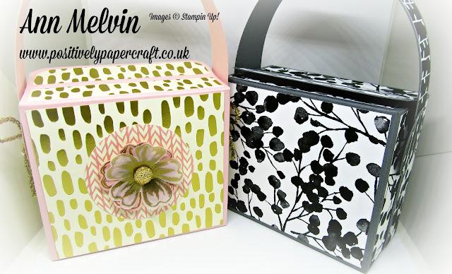 Positivelypapercraft handbag tutorial