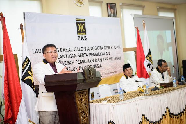 Lantik Tim Pemenangan Pemilu 2019, Presiden PKS : Kita Harus Menang dengan Penuh Keberkahan