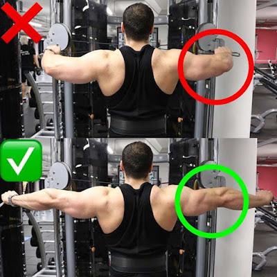 cara membentuk otot yang benar