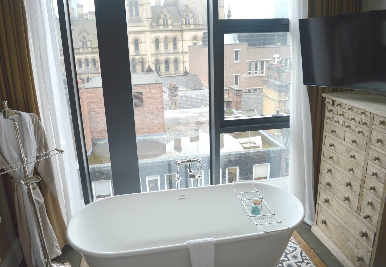 Suite King Street Townhouse, Manchester - Bath