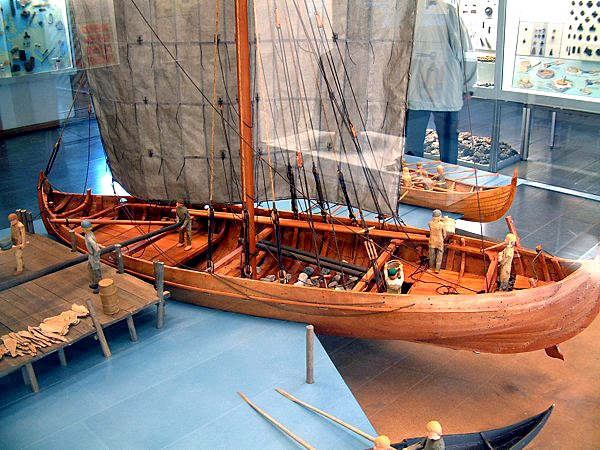The toy boat that sailed the seas of time