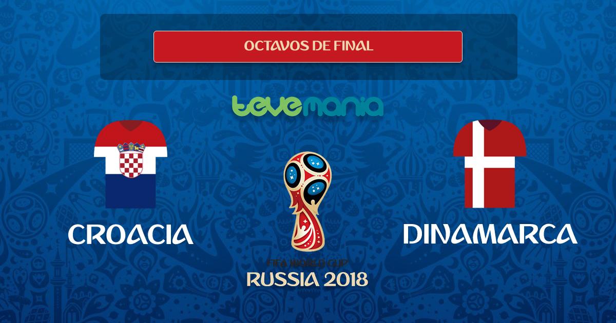 Croacia está en los 4tos de final. Venció en penales a Dinamarca