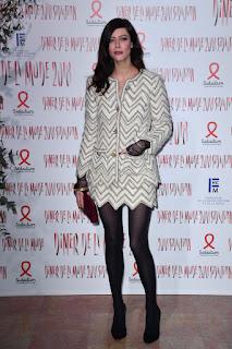 Anna Mouglalis At Sidaction Gala Dinner In Paris