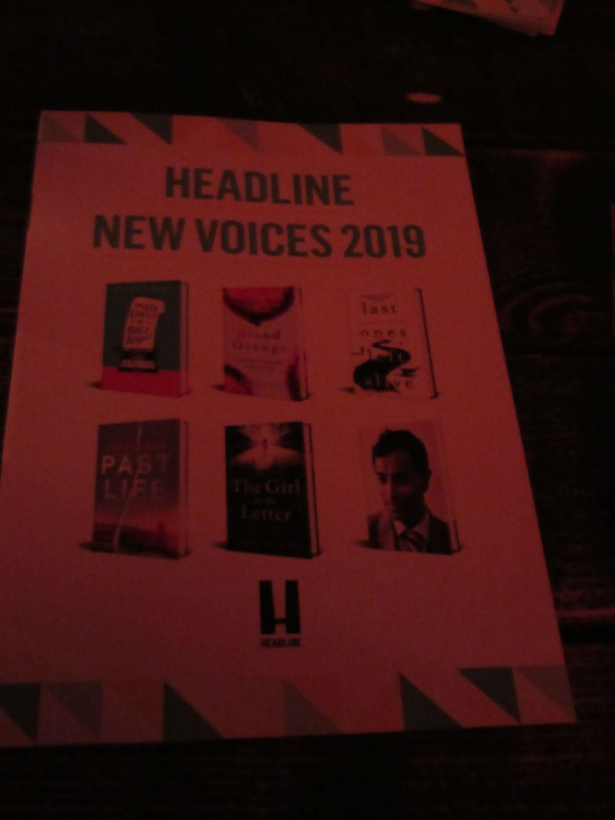 So many books, so little time: New Voices 2019 Headline Event