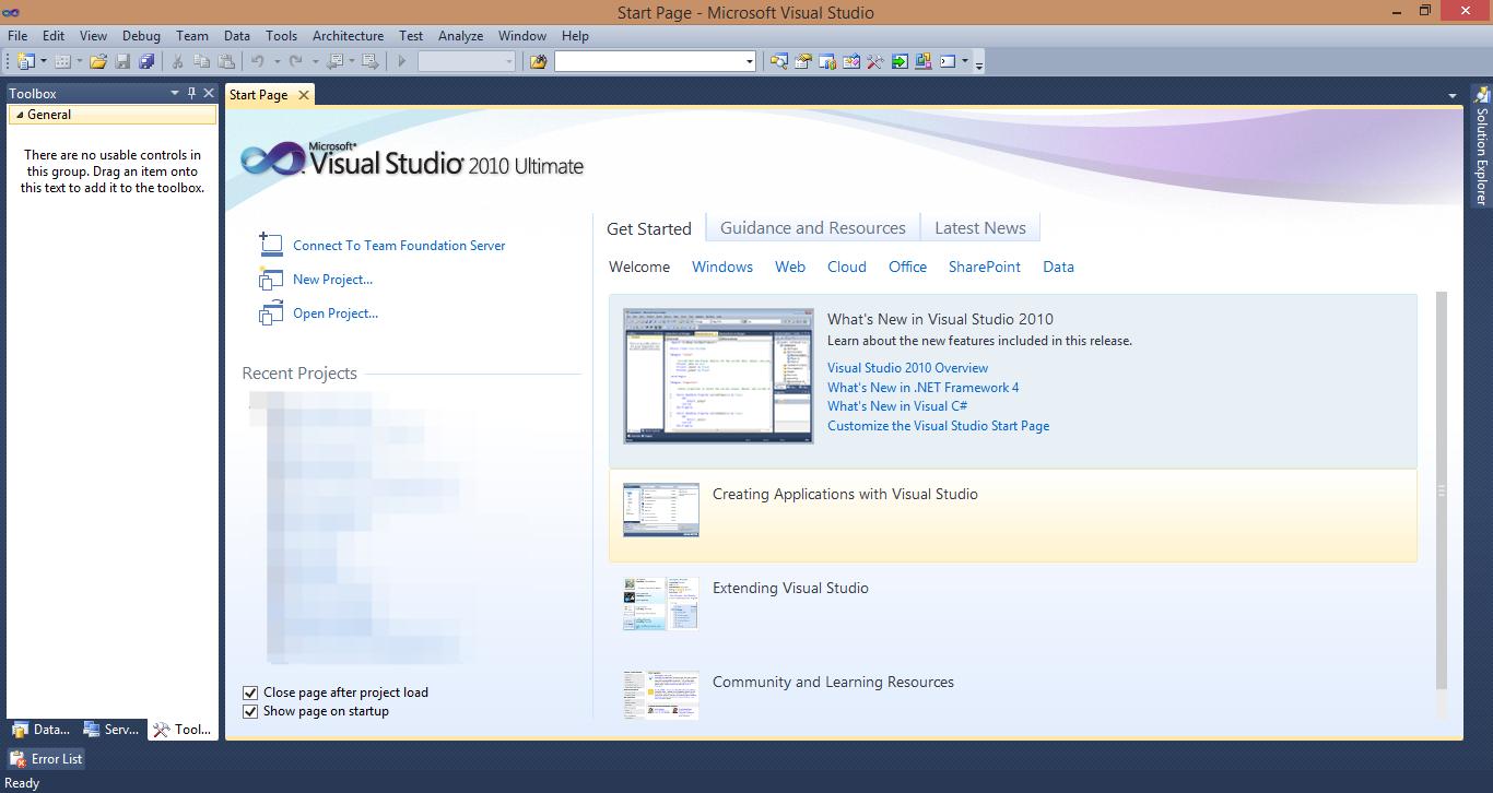Microsoft Visual Studio 2010 FULL İNDİR « C# UYGULAMALARI