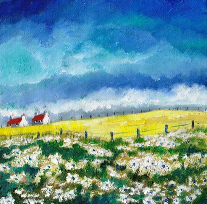 Яркие цвета. Шотландский художник. Alice Stuart 3