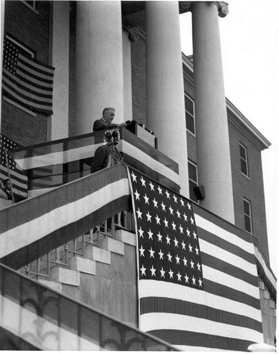 31 October 1940 worldwartwo.filminspector.com Franklin Roosevelt FDR NIH