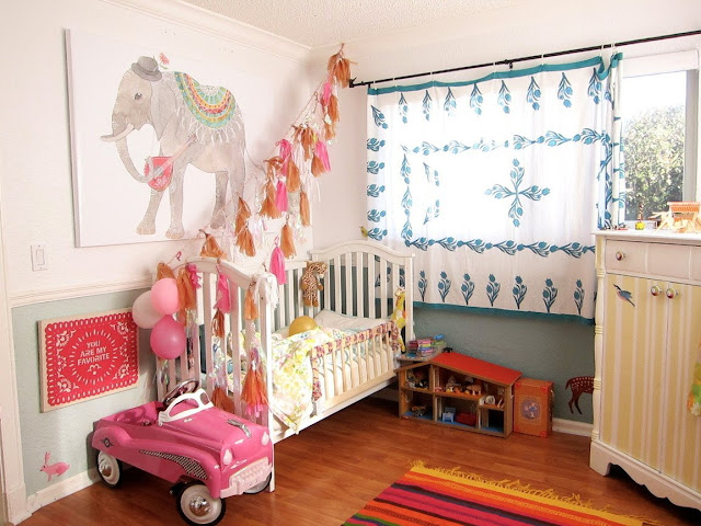 Bohemian Nursery Eclectic Toddler Room Mom Boho Hippie