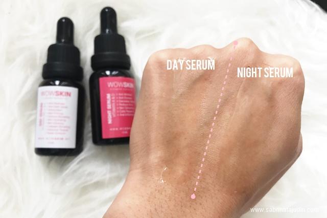Wow Skin Vitamin Serum Set Review Sabrina Tajudin Malaysia Beauty Lifestyle Blog