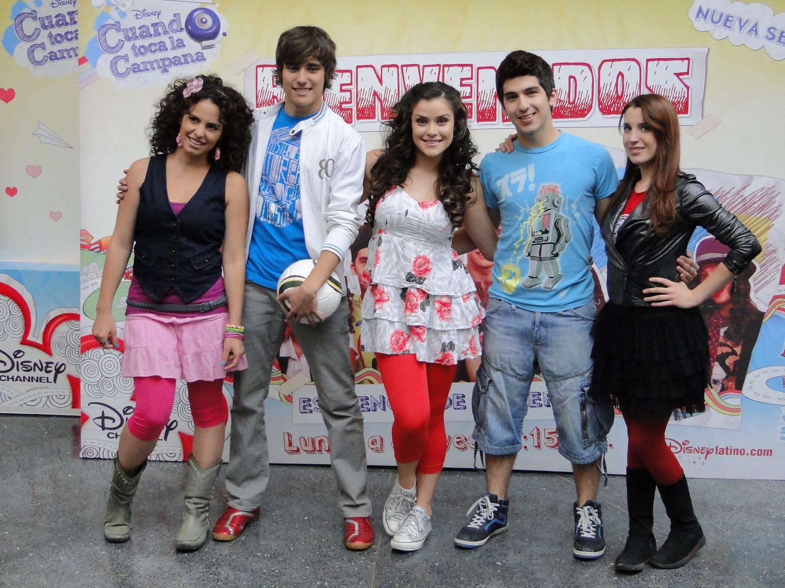 pretty nice 1205f 0af31 Cine Informacion y mas  Disney Channel - Presentacion talento mexicano de  la serie  Cuando Toca la Campana