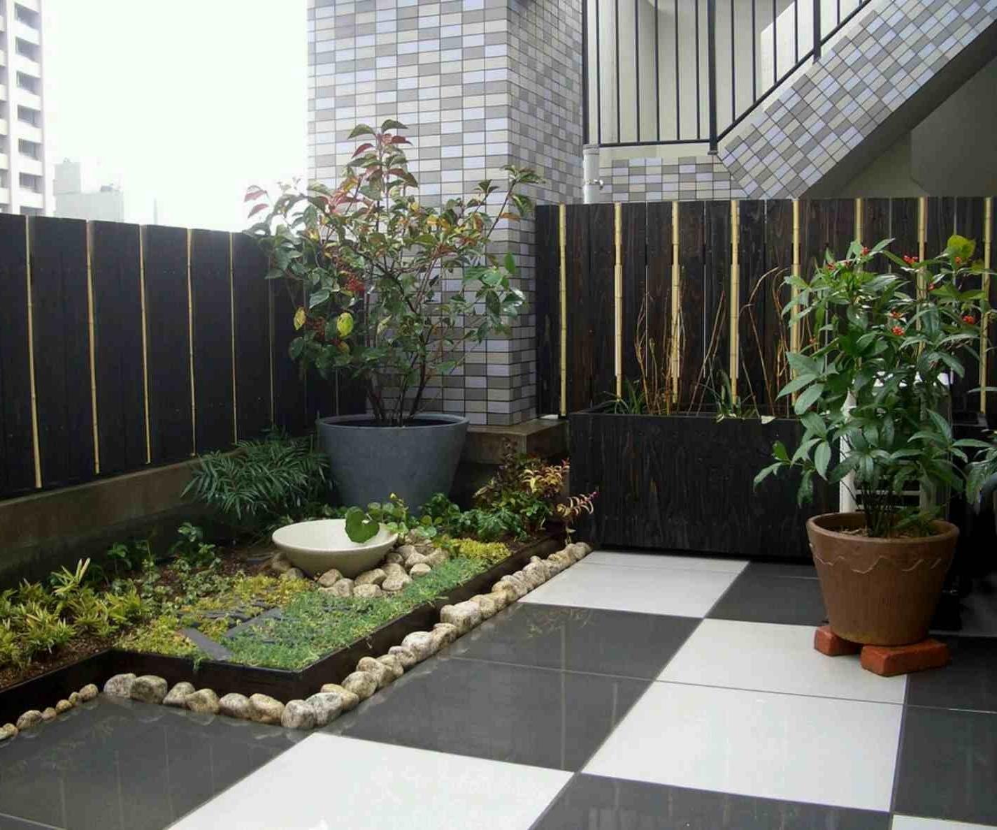 32 Desain Taman Depan Minimalis Sederhana Rumahku Unik
