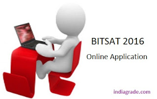 BITSAT 2016 Application Form