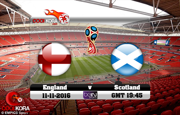مشاهدة مباراة إنجلترا وإسكتلندا اليوم 11-11-2016 تصفيات كأس العالم
