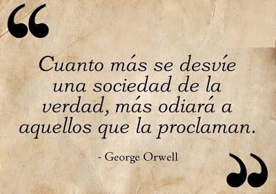 Meme cita Orwell