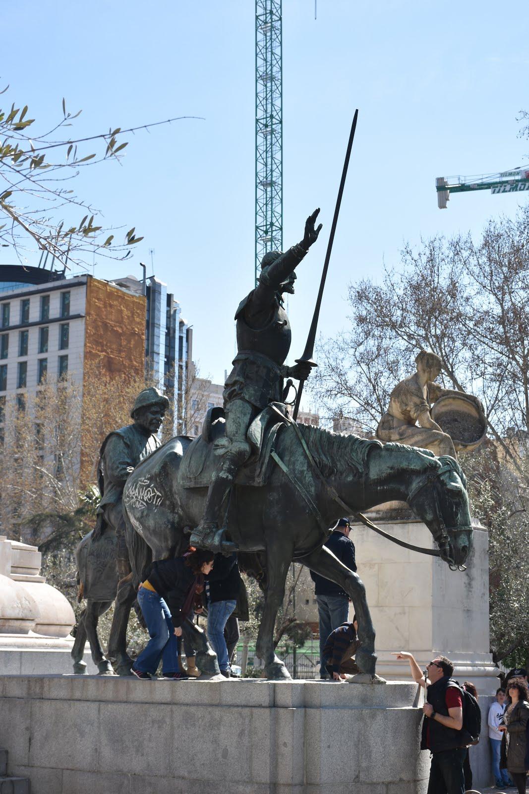 don quijote slåss mot väderkvarnar