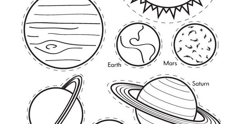solar system coloring pages - 704×630