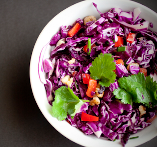 Healthy African Kabichi Cabbage Salad Recipe