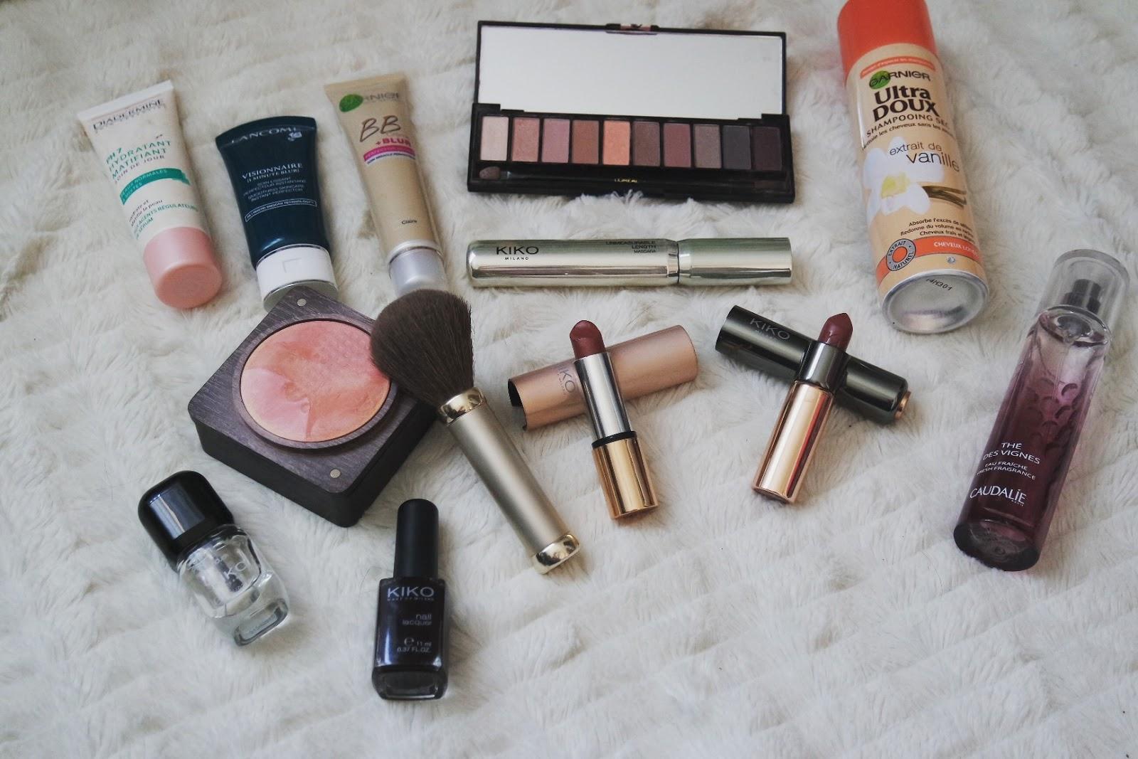 Maquillage Automne Favoris Kiko Lancome Garnier Palette BB creme Rouge à lèvre Blog Coin des licornes littéraire lifestyle Toulouse