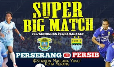 Siaran Langsung Perserang vs Persib - Live Streaming Salawe TV Youtube