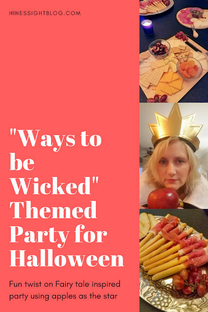 Ways to be Wicked Inspired Halloween Party with apples as the star. Evil Queen is the host. #Halloween #apples #Easy #Appetizers