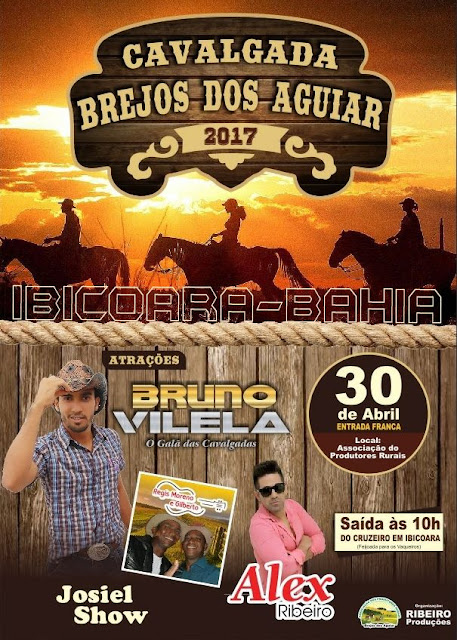 Cavalgada Brejos dos Aguiar, em Ibicoara