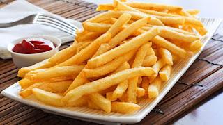 Fried Potatoes (Patates Kizartmasi)