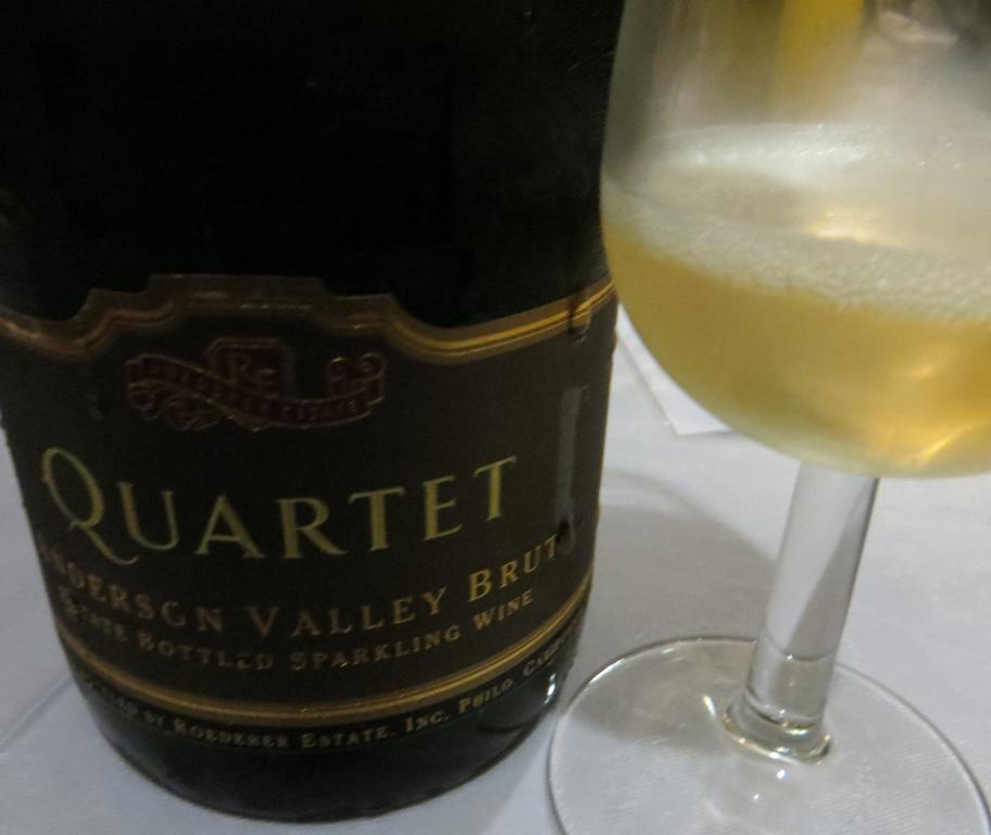 Urbina Vinos Blog: Quartet Anderson Valley Brut, Roederer