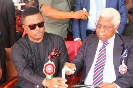 Gov. Obiano Reacts To Ekwueme's Death, says