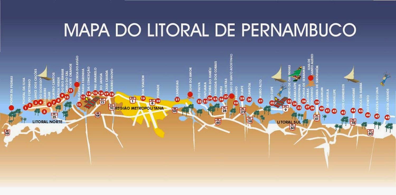 Mapas De Porto De Galinhas Pe Mapasblog