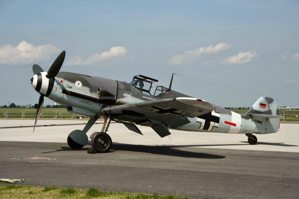 Немецкие авианосные истребители Ме-109