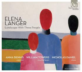 Elena Langer - Landscape with three people - Harmonia Mundi