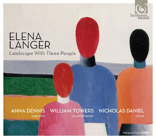 Elena Langer - Landscape with three people - Harmonia Mundi