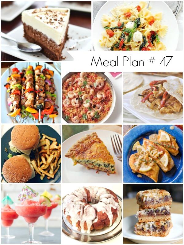 Το Μενού της Εβδομάδας - Weekly Meal Plan #47 - Ioanna's Notebook