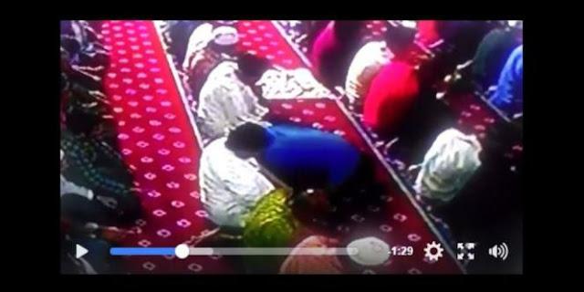 Terekam CCTV, Izhar Wafat Saat Sujud Rakaat Terakhir Shalat Isya di Masjid Al Ittihad Tebet
