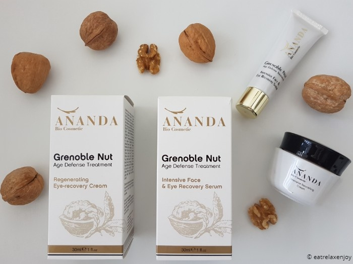 קוסמטיקה טבעית אננדה  Ananda bio cosmetics על בסיס אגוז גרנובל