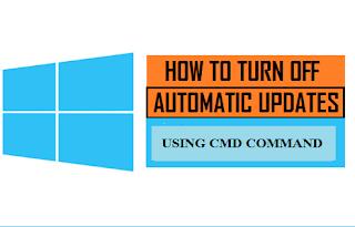 CMD ব্যাবহার করে Windows-10 এর Auto Updates বন্ধ করার পদ্ধতি।