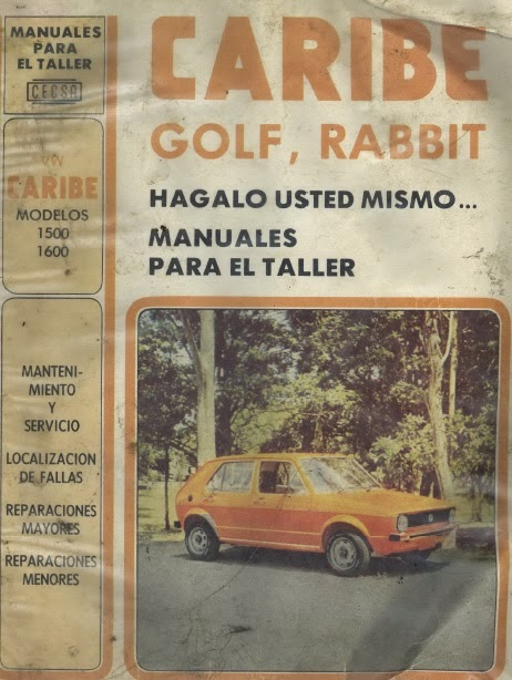 Golf-Rabbit-Manual de taller-Mk1
