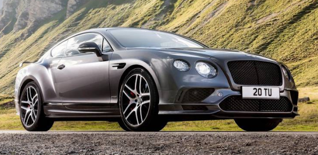 2018 Bentley Continental Supersports Design