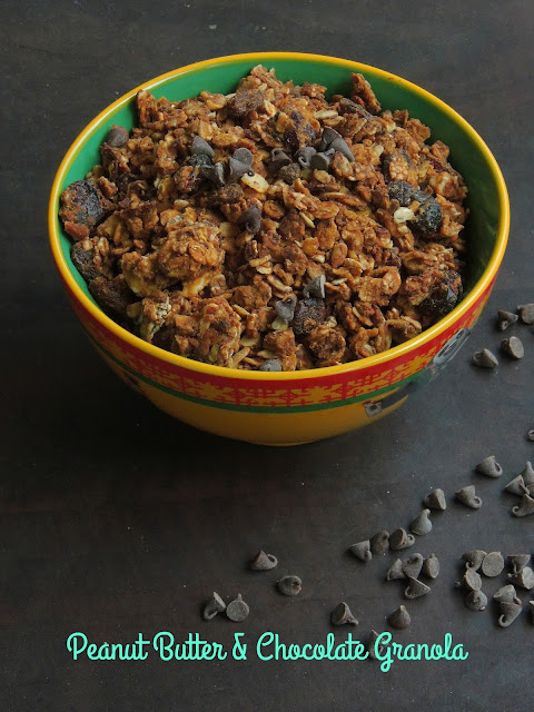 Peanut Butter, Chocolate Granola
