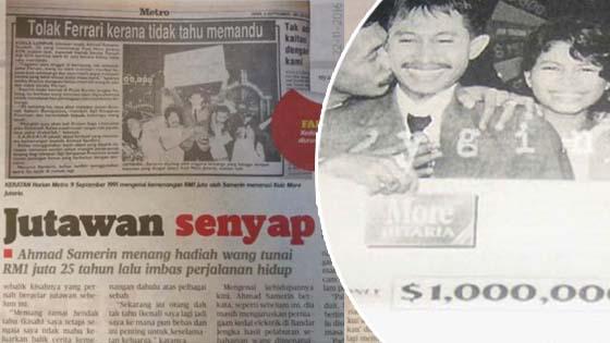 Lelaki Yang Menjadi Jutawan Sekelip Mata Pada Tahun 1991 Muncul Semula Selepas 26 Tahun