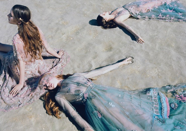 Valentino SS15 Campaign || Allegory of Vanity