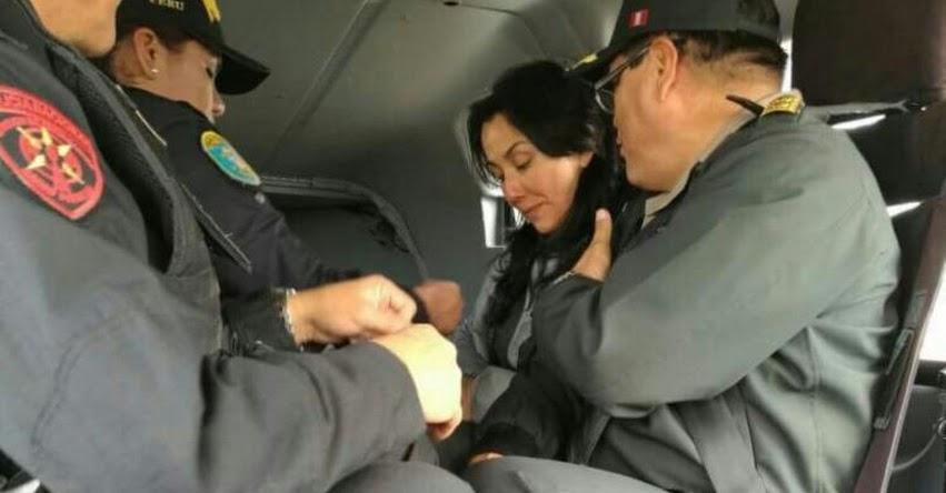 Nadine Heredia se encuentra recluida en penal Anexo de Mujeres de Chorrillos