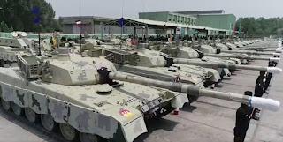 MBT Upgrade Al Khalid-I