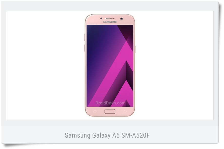 Nougat firmware for Samsung Galaxy A5 SM-A520F (VOD) United Kingdom (Vodafone)