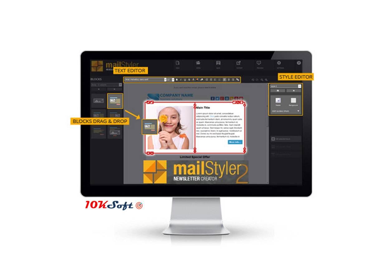 Free Download MailStyler Newsletter Creator Pro v2