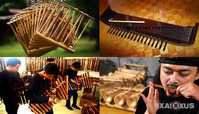 14 Alat Musik Sunda Jawa Barat Beserta Gambar, Nama, Sejarah, Fungsi, dan Penjelasannya