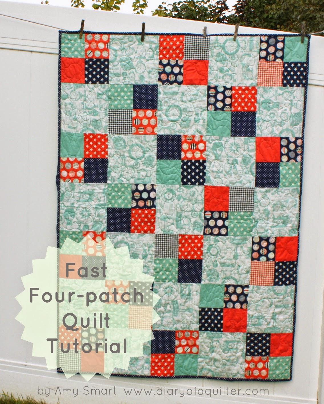 Baby Quilts Patterns. Half Snowball Quilt Block Tutorial. Easy ... : free quilting tutorials online - Adamdwight.com