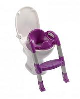 réhausseur de toilettes violet