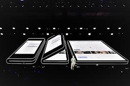 """""""Infinity Flex Display"""" Smartphone Layar Lipat Pertama Dari Samsung"""